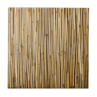 Natural Bamboo Zen Background Customized Template Ceramic Tile