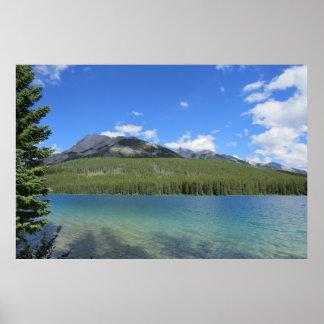Natural Banff Landscape Poster
