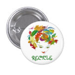 Natural Beauty ~ Button Recycle Leaves Nature