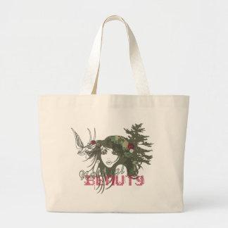 natural beauty canvas bag