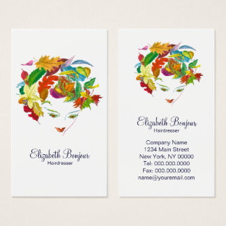 Natural Beauty - CHANGE COLOR / Business Card