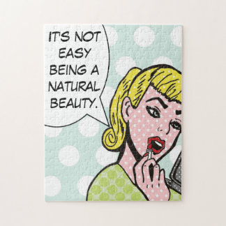Natural Beauty Comic Book Jigsaw Puzzle
