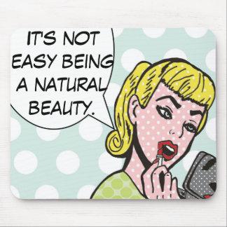 Natural Beauty Comic Book Mousepad