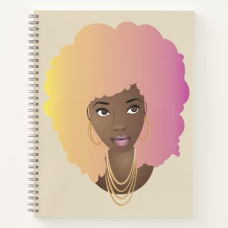 Natural Beauty (Cotton Candy) Notebook