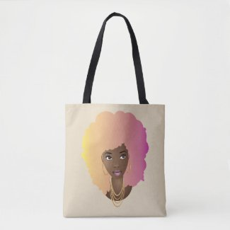 Natural Beauty (Cotton Candy) Tote Bag