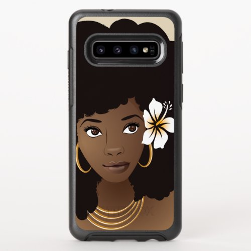 Natural Beauty | Flower in her Hair Phone Case