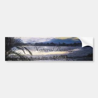 Natural Beauty Guatemala Summer Evening Bumper Sticker