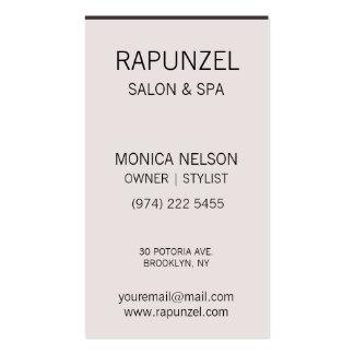 Natural Beauty Hair design  Business Card