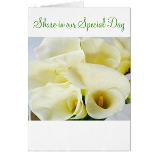 Natural Beauty-Invitation Greeting Card
