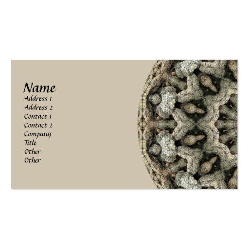 Natural Beauty Kaleidoscope Business Cards