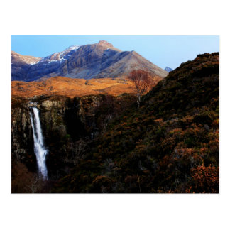 Natural beauty postcard
