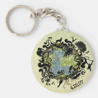 Natural Beauty - Preserve It! Keychain