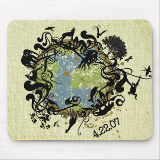 Natural Beauty - Preserve It! Mouse Pad