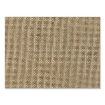 Beach Themed Natural Beige Tan Jute Burlap-Rustic Cabin Wedding Yard Sign