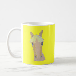 Natural blond coffee mug