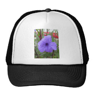 Natural Blue Beautiful Flower Trucker Hat