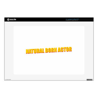 Natural Born Actor Decals For Laptops