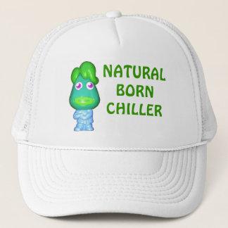 Natural Born Chiller Little Green Alien Trucker Hat