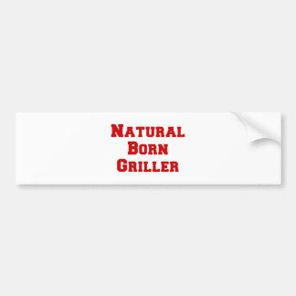 natural-born-griller-fresh-burg.png car bumper sticker