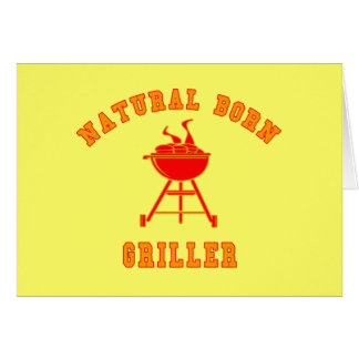 Natural Born Griller Products Card