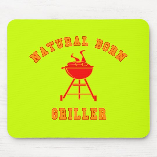 Natural Born Griller Products Mouse Pad