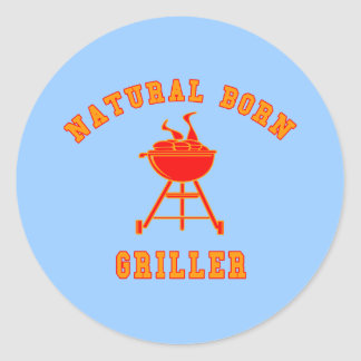 Natural Born Griller Products Sticker