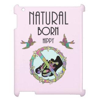 Natural Born Hippy iPad Case