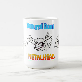 Natural Born Metalhead Mug