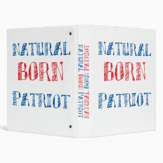 Natural Born Patriot 3 Ring Binders