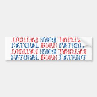 Natural Born Patriot Bumper Stickers
