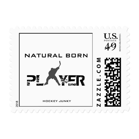 NATURAL BORN PLAYER POSTAGE