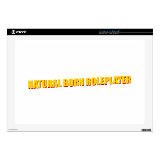 Natural Born Roleplayer Decal For Laptop