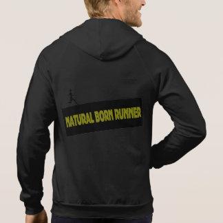 Natural Born Runner - Funny Running Hoodie