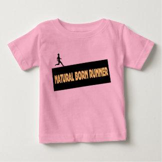 Natural Born Runner - Funny Shirt for Babies