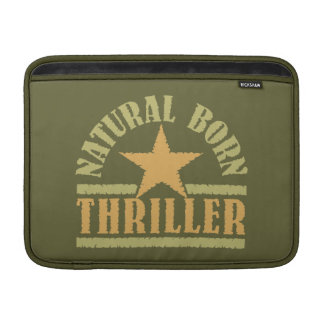 "Natural Born Thriller custom 13"" MacBook sleeve"
