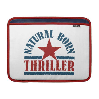 "Natural Born Thriller custom 13"" MacBook sleeve"