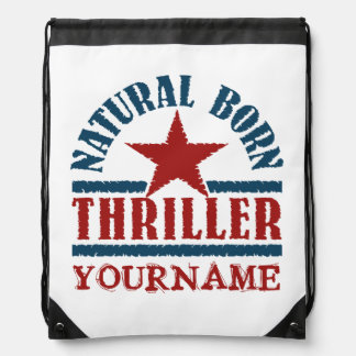Natural Born Thriller custom bag