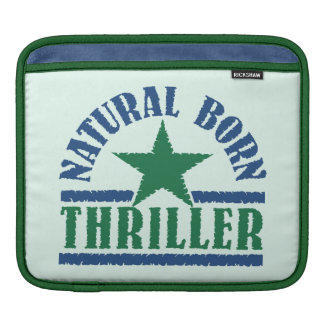 Natural Born Thriller custom iPad sleeve