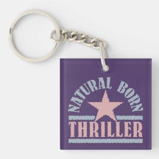 Natural Born Thriller custom key chain