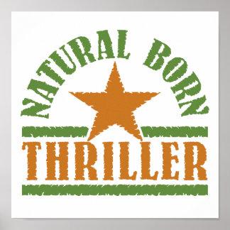 Natural Born Thriller custom poster
