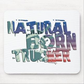 natural born trucker usa flag trucker mousepads