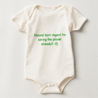 Natural born vegan! I'm saving the planet alrea... Romper