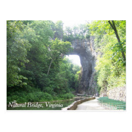 Natural Bridge Postcard