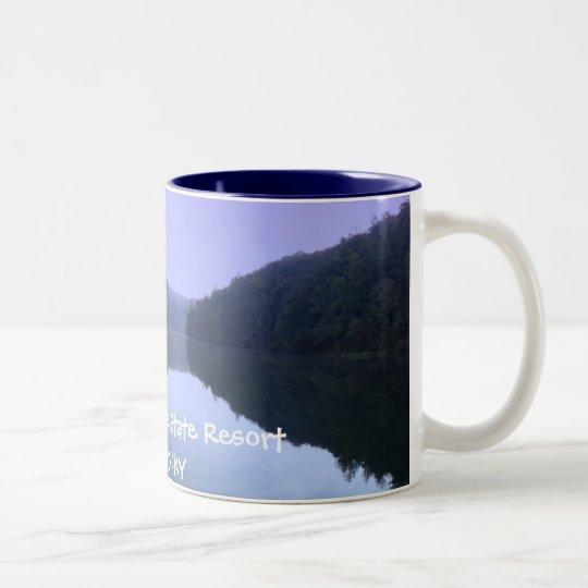 Natural Bridge State Resort Two-Tone Coffee Mug