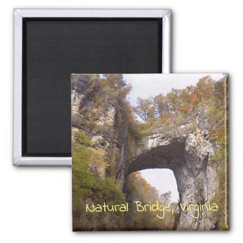 Natural Bridge Virginia Magnet