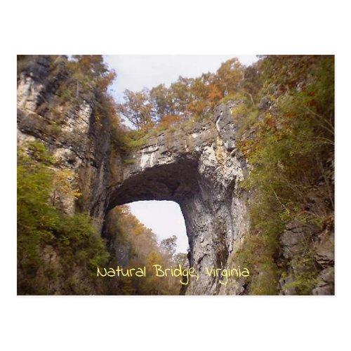 Natural Bridge Virginia Postcard