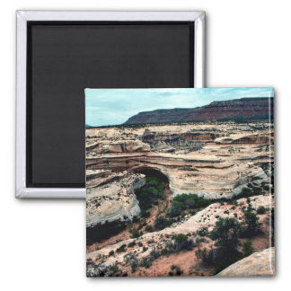 Natural Bridges National park 2 Inch Square Magnet