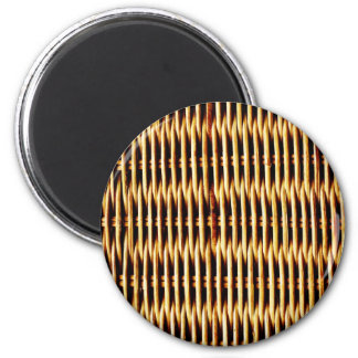 Natural Brown bamboo canes wood Magnet