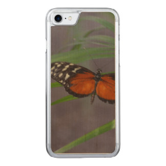 Natural Butterfly Carved iPhone 8/7 Case