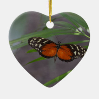 Natural Butterfly Ceramic Ornament